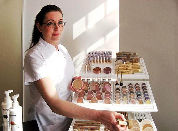 Heli Laurbär kosmetologi Koria Kouvola